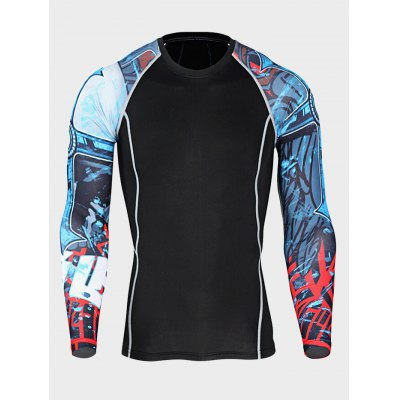 Quick-drying Sports Fitness T ShirtsWeight Lifting Clothes<br>Quick-drying Sports Fitness T Shirts<br><br>Features: Breathable, High elasticity, Quick Dry<br>Gender: Men<br>Material: Polyester<br>Package Content: 1 x T Shirt<br>Package size: 30.00 x 28.00 x 2.00 cm / 11.81 x 11.02 x 0.79 inches<br>Package weight: 0.2300 kg<br>Product weight: 0.1900 kg<br>Size: 2XL,3XL,4XL,L,M,XL<br>Types: Long Sleeves