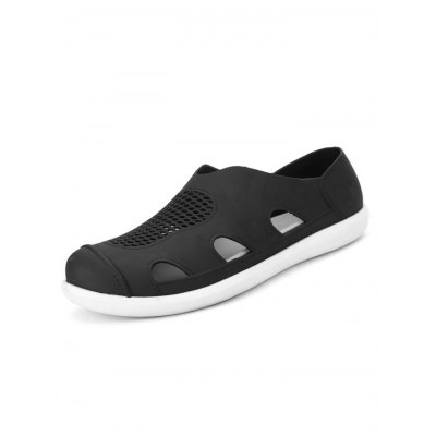 Hollow-out Environmental Beach SandalsMens Sandals<br>Hollow-out Environmental Beach Sandals<br><br>Color: Black,Deep Blue,Gray<br>Contents: 1 x Pair of Shoes<br>Materials: POE, Rubber<br>Package Size ( L x W x H ): 33.00 x 22.00 x 11.00 cm / 12.99 x 8.66 x 4.33 inches<br>Package Weights: 0.330kg<br>Size: 40,41,42,43,44,45<br>Type: Sandals