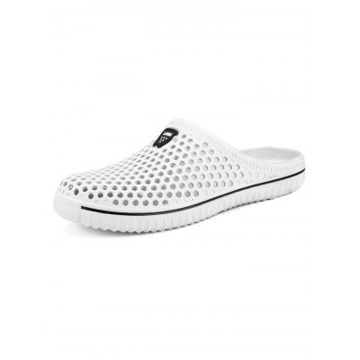 Honeycomb Environmental Beach SlippersMens Slippers<br>Honeycomb Environmental Beach Slippers<br><br>Color: Black,Blue,Green,White<br>Contents: 1 x Pair of Shoes<br>Materials: PU, Rubber<br>Package Size ( L x W x H ): 33.00 x 22.00 x 11.00 cm / 12.99 x 8.66 x 4.33 inches<br>Package Weights: 0.330kg<br>Size: 36,37,38,39,40,41,42,43,44,45<br>Type: Slippers