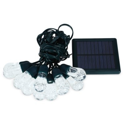 intelamp YL - 004 Solar Powered 4.2M 12 LED String Light