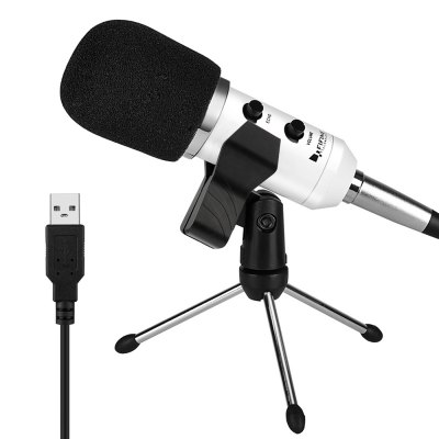 FIFINE K056 USB Stereo Microphone for PC LaptopMicrophone<br>FIFINE K056 USB Stereo Microphone for PC Laptop<br><br>Brand: FIFINE<br>Cable Length (cm): 2.5m<br>Connection: USB Condenser<br>Impedance: 16ohms<br>Mainly Compatible with: Windows XP, Windows Vista, Windows ME, Windows 98SE, Windows 98, Windows 7, Windows 2000, Mac OS, Linux<br>Occasion: Computer<br>Package Contents: 1 x USB Stereo Microphone, 1 x Adjustable Tripod, 1 x Clamp, 1 x Cap, 1 x Connect Cable, 1 x English Manual<br>Package size (L x W x H): 19.30 x 16.00 x 6.00 cm / 7.6 x 6.3 x 2.36 inches<br>Package weight: 0.6690 kg<br>Polar Pattern: Uni-directional<br>Product size (L x W x H): 16.00 x 5.00 x 5.00 cm / 6.3 x 1.97 x 1.97 inches<br>Product weight: 0.4600 kg<br>Type: Wired