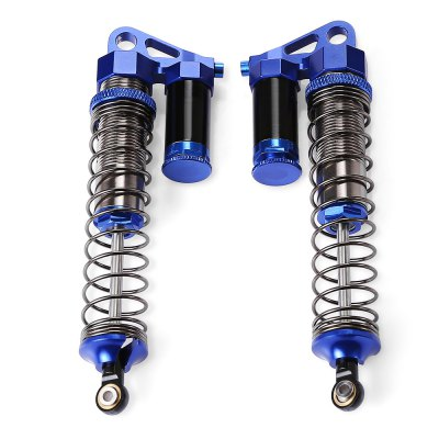 AUSTAR Adjustable Metal Shock Absorber 2pcsRC Car Parts<br>AUSTAR Adjustable Metal Shock Absorber 2pcs<br><br>Brand: AUSTAR<br>Package Contents: 2 x Shock Absorber, 2 x Spring, 1 x Pack of Accessories<br>Package size (L x W x H): 9.60 x 2.00 x 18.80 cm / 3.78 x 0.79 x 7.4 inches<br>Package weight: 0.1440 kg<br>Product weight: 0.0750 kg<br>Type: Anti-shock Mount