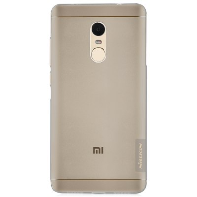 Nillkin TPU Phone Case ProtectorCases &amp; Leather<br>Nillkin TPU Phone Case Protector<br><br>Brand: Nillkin<br>Color: Gray,Transparent<br>Compatible Model: Redmi Note 4X<br>Features: Anti-knock, Back Cover<br>Mainly Compatible with: Xiaomi<br>Material: TPU<br>Package Contents: 1 x Phone Case<br>Package size (L x W x H): 19.10 x 12.00 x 2.80 cm / 7.52 x 4.72 x 1.1 inches<br>Package weight: 0.0800 kg<br>Product Size(L x W x H): 15.20 x 7.70 x 0.90 cm / 5.98 x 3.03 x 0.35 inches<br>Product weight: 0.0150 kg<br>Style: Transparent