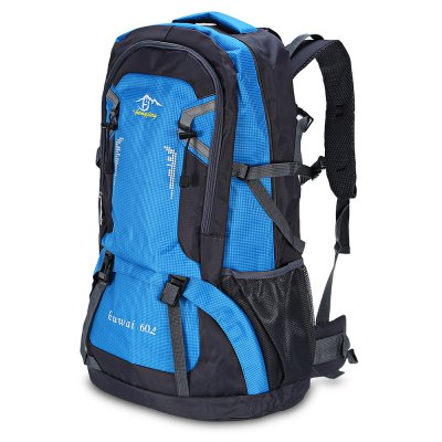 HONGJING 3603 Nylon 60L Camping Mountaineering BackpackBackpacks<br>HONGJING 3603 Nylon 60L Camping Mountaineering Backpack<br><br>Bag Capacity: 60L<br>Brand: HONGJING<br>Capacity: Above 40L<br>For: Camping, Climbing, Hiking, Traveling<br>Gender: Unisex<br>Material: Nylon<br>Package Contents: 1 x HONGJING 3603 60L Backpack<br>Package size (L x W x H): 37.00 x 31.00 x 10.00 cm / 14.57 x 12.2 x 3.94 inches<br>Package weight: 1.0200 kg<br>Product size (L x W x H): 36.00 x 20.00 x 60.00 cm / 14.17 x 7.87 x 23.62 inches<br>Product weight: 0.9700 kg<br>Strap Length: 45 - 85cm<br>Style: Fashion<br>Type: Backpack