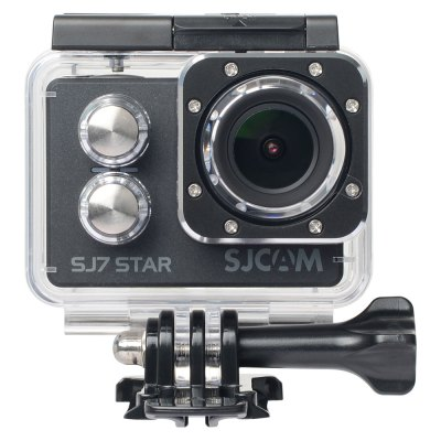 Original SJCAM SJ7 STAR WiFi Action Camera 4KAction Cameras<br>Original SJCAM SJ7 STAR WiFi Action Camera 4K<br><br>Aerial Photography: Yes<br>Anti-shake: No<br>Application: Extreme Sports, Underwater<br>Audio System: Built-in microphone/speaker (AAC)<br>Auto Focusing: No<br>Battery Capacity (mAh): 1000mAh<br>Battery Type: Built-in<br>Brand: SJCAM<br>Camera Timer: No<br>Charge way: AC adapter,Car charger,USB charge by PC<br>Chipset: Ambarella A12S75<br>Chipset Name: Ambarella<br>Features: Wireless<br>Function: Motion Detection<br>Image Format : JPEG<br>Image resolutions: 3840?2160 (8.3MP), 4608 x 3456 (16M), 4254?3264 (14MP), 4000 x 3000 (12MP), 2560 x 1920 (5MP), 2048 x 1536 (3MP)<br>Interface Type: TF Card Slot, Micro USB, AV-Out, HDMI<br>Language: English,French,German,Italian,Japanese,Korean,Polski,Portuguese,Russian,Simplified Chinese,Spanish,Traditional Chinese<br>Loop-cycle Recording Time: 2min,3min,5min<br>Max External Card Supported: TF 64G (not included)<br>Microphone: Built-in<br>Model: SJ7 STAR<br>Motion Detection: Yes<br>Night vision : No<br>Package Contents: 1 x SJ7 Action Camera ( Built-in 1000mAh Lithium Battery ), 1 x Waterproof Housing + Mount + Screw, 1 x Frame, 2 x Base, 2 x Adhesive, 2 x Mount, 3 x Connector + Screw, 1 x Handle Bar Mount, 1 x Tripo<br>Package size (L x W x H): 25.50 x 13.50 x 7.00 cm / 10.04 x 5.31 x 2.76 inches<br>Package weight: 0.6500 kg<br>Product size (L x W x H): 6.00 x 4.10 x 2.47 cm / 2.36 x 1.61 x 0.97 inches<br>Product weight: 0.0740 kg<br>Remote Control: Yes<br>Screen resolution: 320x240<br>Screen size: 2.0inch<br>Screen type: LTPS<br>Sensor: CMOS<br>Time lapse: No<br>Type: Sports Camera<br>Type of Camera: 4K<br>Video format: MP4<br>Video Frame Rate: 120fps,240fps,25fps,30FPS,60FPS,90fps<br>Video Output : HDMI<br>Video Resolution: 1080P (120fps),1080P (1920 x 1080),1080P(30fps),1080P(60fps),1280 x 960,1440P (2560 x 1440),1440P (30fps),1440P (60fps),1920 x 1440,2.5K (30fps),2.5K (60fps),2.7K (2704 x 1520),2.7K (2704x20