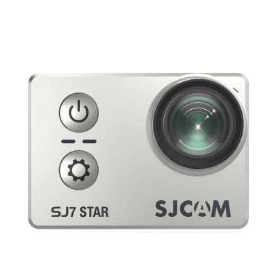 Original SJCAM SJ7 STAR WiFi Action Camera 4KAction Cameras<br>Original SJCAM SJ7 STAR WiFi Action Camera 4K<br><br>Aerial Photography: Yes<br>Anti-shake: No<br>Application: Extreme Sports, Underwater<br>Audio System: Built-in microphone/speaker (AAC)<br>Auto Focusing: No<br>Battery Capacity (mAh): 1000mAh<br>Battery Type: Built-in<br>Brand: SJCAM<br>Camera Timer: No<br>Charge way: AC adapter,Car charger,USB charge by PC<br>Chipset: Ambarella A12S75<br>Chipset Name: Ambarella<br>Features: Wireless<br>Function: Motion Detection<br>Image Format : JPEG<br>Image resolutions: 3840?2160 (8.3MP), 4608 x 3456 (16M), 4254?3264 (14MP), 4000 x 3000 (12MP), 2560 x 1920 (5MP), 2048 x 1536 (3MP)<br>Interface Type: TF Card Slot, Micro USB, AV-Out, HDMI<br>Language: English,French,German,Italian,Japanese,Korean,Polski,Portuguese,Russian,Simplified Chinese,Spanish,Traditional Chinese<br>Loop-cycle Recording Time: 2min,3min,5min<br>Max External Card Supported: TF 64G (not included)<br>Microphone: Built-in<br>Model: SJ7 STAR<br>Motion Detection: Yes<br>Night vision : No<br>Package Contents: 1 x SJ7 Action Camera ( Built-in 1000mAh Lithium Battery ), 1 x Waterproof Housing + Mount + Screw, 1 x Frame, 2 x Base, 2 x Adhesive, 2 x Mount, 3 x Connector + Screw, 1 x Handle Bar Mount, 1 x Tripo<br>Package size (L x W x H): 25.50 x 13.50 x 7.00 cm / 10.04 x 5.31 x 2.76 inches<br>Package weight: 0.6500 kg<br>Product size (L x W x H): 6.00 x 4.10 x 2.47 cm / 2.36 x 1.61 x 0.97 inches<br>Product weight: 0.0740 kg<br>Remote Control: Yes<br>Screen resolution: 320x240<br>Screen size: 2.0inch<br>Screen type: LTPS<br>Sensor: CMOS<br>Time lapse: No<br>Type: Sports Camera<br>Type of Camera: 4K<br>Video format: MP4<br>Video Frame Rate: 120fps,240fps,25fps,30FPS,60FPS,90fps<br>Video Output : HDMI<br>Video Resolution: 1080P (120fps),1080P (1920 x 1080),1080P(30fps),1080P(60fps),1280 x 960,1440P (2560 x 1440),1440P (30fps),1440P (60fps),1920 x 1440,2.5K (30fps),2.5K (60fps),2.7K (2704 x 1520),2.7K (2704x2028),2.7K (<br>White Balance Mode: Underwater, Fluorescent, Auto, Cloudy, Incandescent, Daylight, D4000, D5000<br>Wide Angle: 166 degree wide angle lens<br>WIFI: Yes