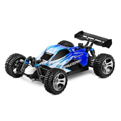 WLtoys A959 1 / 18 Scale 2.4G RC OFF  -  Road Racing Car with Anti  -  vibration System - US PlugRC Cars<br>WLtoys A959 1 / 18 Scale 2.4G RC OFF  -  Road Racing Car with Anti  -  vibration System - US Plug<br><br>Brand: WLtoys<br>Drive Type: 4 WD<br>Package Contents: 1 x A959 RC OFF - Road Racing Car, 1 x Charger, 1 x RC Controller, 1 x Converter, 1 x English Manual<br>Package size (L x W x H): 31.50 x 22.00 x 23.50 cm / 12.4 x 8.66 x 9.25 inches<br>Package weight: 1.7770 kg<br>Remote Control: 2.4GHz Wireless Remote Control<br>Transmitter Power: 4 x 1.5V AA (not included)<br>Type: Off-Road Car