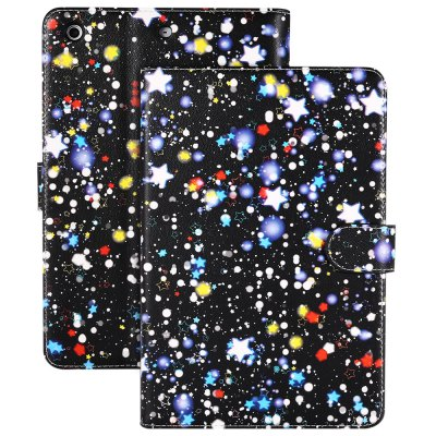Star Pattern PU Leather Cover Case for iPad mini 2 / 3
