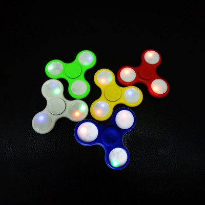 Colorful LED Gyro Focus Toy Anti-stress Plaything