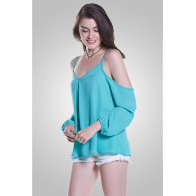 Long Sleeve Off The Shoulder TopsBlouses<br>Long Sleeve Off The Shoulder Tops<br><br>Collar: Off The Shoulder<br>Elasticity: Nonelastic<br>Material: 100% Polyester<br>Package Content: 1 x Blouse<br>Package size (L x W x H): 36.00 x 2.00 x 26.00 cm / 14.17 x 0.79 x 10.24 inches<br>Package weight: 0.1500 kg<br>Pattern Type: Solid<br>Product weight: 0.1200 kg<br>Season: Summer<br>Shirt Length: Regular<br>Sleeve Length: Long Sleeves<br>Style: Fashion