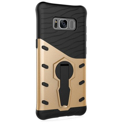 Luanke Phone Back Case BumperSamsung Cases/Covers<br>Luanke Phone Back Case Bumper<br><br>Brand: Luanke<br>Compatible with: Samsung Galaxy S8<br>Features: Anti-knock, Back Cover, Cases with Stand<br>Material: PC, TPU<br>Package Contents: 1 x Phone Case<br>Package size (L x W x H): 21.00 x 13.00 x 1.90 cm / 8.27 x 5.12 x 0.75 inches<br>Package weight: 0.0630 kg<br>Product size (L x W x H): 15.50 x 7.40 x 0.90 cm / 6.1 x 2.91 x 0.35 inches<br>Product weight: 0.0370 kg<br>Style: Modern, Mixed Color