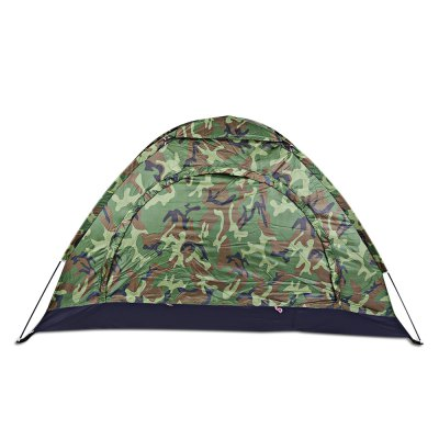 CTSmart MC - 001 Camouflage Pattern 1-person Camping TentTent<br>CTSmart MC - 001 Camouflage Pattern 1-person Camping Tent<br><br>Brand: CTSmart<br>Features: Anti-mosquito, Breathable, Quick Open, Waterproof<br>Fits for: Single<br>Package Content: 1 x CTSmart MC - 001 Camping Tent, 2 x Pole, 4 x Peg, 1 x Top Cover, 1 x Storage Bag<br>Package size: 61.50 x 8.50 x 12.50 cm / 24.21 x 3.35 x 4.92 inches<br>Package weight: 1.2600 kg<br>Product size: 200.00 x 100.00 x 110.00 cm / 78.74 x 39.37 x 43.31 inches<br>Product weight: 1.0700 kg<br>Seasons: Autumn,Spring,Summer<br>Structure: Monolayer<br>Tent Pole Diameter: 6.9mm<br>Type: Manual Tent
