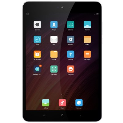 Xiaomi Mi Pad 3 Tablet PCTablet PCs<br>Xiaomi Mi Pad 3 Tablet PC<br><br>3.5mm Headphone Jack: Yes<br>AC adapter: 100-240V 5V 2A<br>Additional Features: Browser, Calculator, Calendar, Bluetooth, Gravity Sensing System, MP3, OTG, Alarm, Light Sensing System, Wi-Fi<br>Back camera: 13.0MP<br>Battery / Run Time (up to): 12 hours video playing time<br>Battery Capacity(mAh): 3.7V / 6600mAh<br>Bluetooth: Yes<br>Brand: Xiaomi<br>Camera type: Dual cameras (one front one back)<br>Charging LED Light: Supported<br>Charging Time.: 3-4 hours<br>Core: Dual-Core 2.1 GHz +Quad-Core 1.7 GHz, 2.1GHz<br>CPU: MTK8176<br>CPU Brand: MTK<br>Front camera: 5.0MP<br>G-sensor: Supported<br>Google Play Store: Supported<br>GPU: IMG GX6250<br>Material of back cover: All Metal<br>MIC: Supported<br>MS Office format: PPT, Excel, Word<br>Music format: MP3, WAV, FLAC, DTS (need license), AC-3, AAC, WMA, APE, OGG<br>Notification LED: Supported<br>OS: MIUI 8<br>Package size: 22.30 x 15.50 x 5.00 cm / 8.78 x 6.1 x 1.97 inches<br>Package weight: 0.5810 kg<br>Picture format: BMP, PNG, GIF, JPEG, JPG<br>Power Adapter: 1<br>Pre-installed Language: Supports multi-language as the screenshots<br>Product size: 19.90 x 13.20 x 0.80 cm / 7.83 x 5.2 x 0.31 inches<br>Product weight: 0.3280 kg<br>RAM: 4GB<br>ROM: 64GB<br>Screen resolution: 2048 x 1536 (QXGA)<br>Screen size: 7.9 inch<br>Screen type: Capacitive<br>Skype: Supported<br>Speaker: Built-in Dual Channel Speaker<br>Support Network: WiFi<br>Tablet PC: 1<br>Type-C: 1<br>USB Cable: 1<br>Video format: MPEG2, AVS, MPEG4, H.263, MVC, RMVB, MPEG1, H.264, VC-1, WMV, H.265, MJPEG(UP TO 1080P)<br>WIFI: 802.11 a/b/g/n/ac wireless internet<br>Youtube: Supported