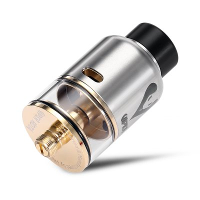 Original VAPJOY VIPER RDTA 3.5mlRebuildable Atomizers<br>Original VAPJOY VIPER RDTA 3.5ml<br><br>Material: Stainless Steel, Glass<br>Overall Diameter: 24mm<br>Package Contents: 1 x VAPJOY VIPER RDTA, 5 x Insulated Ring, 1 x 510 Adapter, 4 x Screw, 1 x O-ring, 2 x Vape Band, 1 x Screwdriver, 1 x Cleaning Tool, 1 x Glass Tank<br>Package size (L x W x H): 7.50 x 7.50 x 3.70 cm / 2.95 x 2.95 x 1.46 inches<br>Package weight: 0.1070 kg<br>Product size (L x W x H): 2.40 x 2.40 x 5.00 cm / 0.94 x 0.94 x 1.97 inches<br>Product weight: 0.0460 kg<br>Rebuildable Atomizer: RBA,RDA,RTA<br>Tank Capacity: 3.5ml<br>Thread: 510<br>Type: Rebuildable Tanks, Rebuildable Drippers, Rebuildable Atomizer