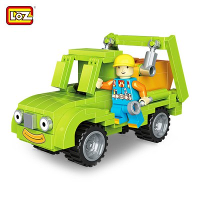 LOZ ABS Engineering Construction Building Block Toy