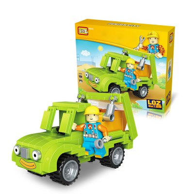LOZ ABS Engineering Construction Building Block ToyBlock Toys<br>LOZ ABS Engineering Construction Building Block Toy<br><br>Brand: LOZ<br>Completeness: Semi-finished Product<br>Gender: Unisex<br>Materials: ABS<br>Package Contents: 1 x Building Block Set, 1 x Operation Instruction<br>Package size: 17.00 x 5.00 x 14.50 cm / 6.69 x 1.97 x 5.71 inches<br>Package weight: 0.1200 kg<br>Product size: 16.50 x 4.50 x 14.00 cm / 6.5 x 1.77 x 5.51 inches<br>Product weight: 0.0800 kg<br>Suitable Age: Kid<br>Theme: Movie and TV<br>Type: Kids Building