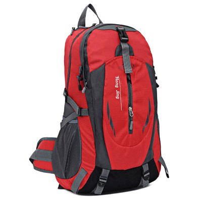 HONGJING HJ - 1013 Anti-scratch 30L Climbing BackpackBackpacks<br>HONGJING HJ - 1013 Anti-scratch 30L Climbing Backpack<br><br>Bag Capacity: 30L<br>Brand: HONGJING<br>Capacity: 21 - 30L<br>Features: Ultra Light, Tactical Style, molle system, Laptop Bag<br>For: Camping, Traveling, Hiking, Climbing<br>Gender: Unisex<br>Material: Polyester, Nylon<br>Package Contents: 1 x HONGJING HJ - 1013 Mountainteering Backpack<br>Package size (L x W x H): 33.00 x 8.00 x 36.00 cm / 12.99 x 3.15 x 14.17 inches<br>Package weight: 0.8400 kg<br>Product size (L x W x H): 32.00 x 18.00 x 51.00 cm / 12.6 x 7.09 x 20.08 inches<br>Product weight: 0.7600 kg<br>Strap Length: 45 - 80cm<br>Style: Fashion<br>Type: Backpack