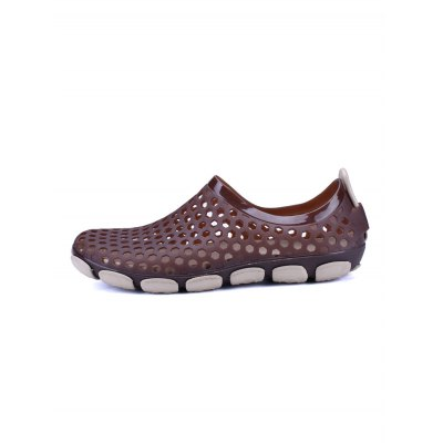Honeycomb Environmental Beach SandalsMens Sandals<br>Honeycomb Environmental Beach Sandals<br><br>Contents: 1 x Pair of Shoes<br>Materials: EVA, PVC<br>Occasion: Party<br>Package Size ( L x W x H ): 33.00 x 22.00 x 11.00 cm / 12.99 x 8.66 x 4.33 inches<br>Package Weights: 0.230kg<br>Seasons: Summer<br>Size: 40,41,42,43,44,45<br>Style: Comfortable, Leisure<br>Type: Sandals