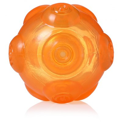 Non-toxic TPR Tooth Dog Toy Balls for Training Playing Chewing