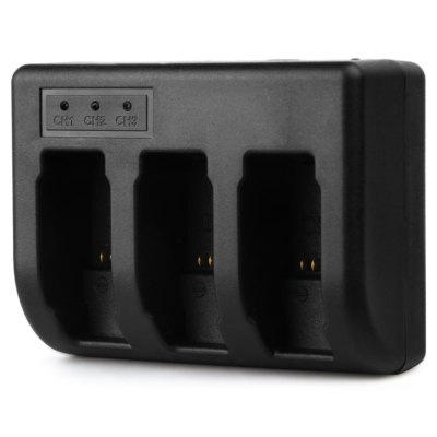 AHDBT - 501 Three Battery Charger for GoPro HERO5