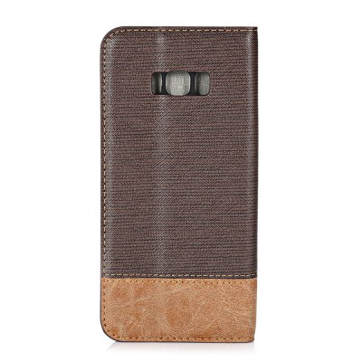 Contrast Color Phone Wallet CaseSamsung Cases/Covers<br>Contrast Color Phone Wallet Case<br><br>Compatible with: Samsung Galaxy S8 Plus<br>Features: Anti-knock, Cases with Stand, Full Body Cases, With Credit Card Holder<br>Material: PU Leather, TPU<br>Package Contents: 1 x Phone Case<br>Package size (L x W x H): 17.50 x 9.00 x 2.20 cm / 6.89 x 3.54 x 0.87 inches<br>Package weight: 0.1130 kg<br>Product size (L x W x H): 16.40 x 8.00 x 1.20 cm / 6.46 x 3.15 x 0.47 inches<br>Product weight: 0.0920 kg<br>Style: Modern, Mixed Color