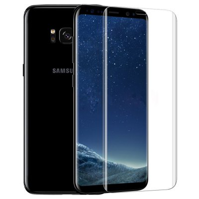 ASLING 3D Arc Tempered Glass Full Cover Screen Film for Samsung Galaxy S8