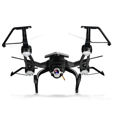 YU XIANG 668 - R8W 2.4GHz 4CH RC Quadcopter - RTFRC Quadcopters<br>YU XIANG 668 - R8W 2.4GHz 4CH RC Quadcopter - RTF<br><br>Age: Above 14 years old<br>Battery: 7.4V 500mAh lithium-ion<br>Brand: YU XIANG<br>Built-in Gyro: 6 Axis Gyro<br>Camera Pixels: 5MP ( by using micro SD card ),  less than 5MP ( by using mobile phone )<br>Channel: 4-Channels<br>Charging Time.: 40-60mins<br>Compatible with Additional Gimbal: No<br>Features: Camera, Brushed Version, WiFi APP Control, WiFi FPV<br>Flying Time: 5-7mins<br>FPV Distance: 70m<br>Functions: Air Press Altitude Hold, Turn left/right, With light, WiFi Connection, Up/down, Forward/backward, Headless Mode, One Key Automatic Return, Sideward flight, Slow down, Speed up, 3D rollover<br>Kit Types: RTF<br>Level: Intermediate Level<br>Material: Electronic Components, ABS/PS<br>Mode: Mode 2 (Left Hand Throttle)<br>Model: 668 - R8W<br>Model Power: Built-in rechargeable battery<br>Motor Type: Brushed Motor<br>Package Contents: 1 x Quadcopter, 1 x Transmitter, 1 x USB Cable, 2 x Spare Propeller, 1 x Mobile Phone Holder, 1 x Screwdriver, 1 x English Manual<br>Package size (L x W x H): 33.00 x 29.00 x 13.00 cm / 12.99 x 11.42 x 5.12 inches<br>Package weight: 0.8700 kg<br>Product size (L x W x H): 35.00 x 29.00 x 10.00 cm / 13.78 x 11.42 x 3.94 inches<br>Radio Mode: Mode 2 (Left-hand Throttle)<br>Remote Control: 2.4GHz Wireless Remote Control<br>Size: Large<br>Transmitter Power: 4 x 1.5V AA battery(not included)<br>Type: Outdoor, Quadcopter