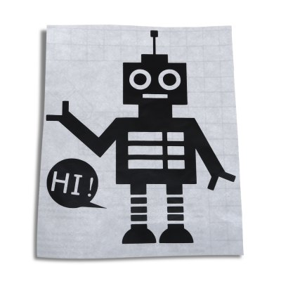 AY - S16 Robot Switch Sticker