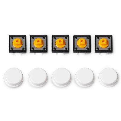 LDTR - YJ030 5PCS Push Button Switches