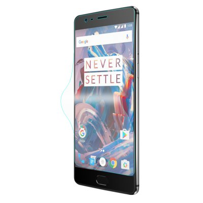 Hat Prince 3D Arc Soft Screen FilmScreen Protectors<br>Hat Prince 3D Arc Soft Screen Film<br><br>Brand: Hat-Prince<br>Compatible Model: OnePlus 3 / 3T<br>Features: Anti scratch, High sensitivity, High Transparency, High-definition, Ultra thin<br>Material: TPU, TPE, PET<br>Package Contents: 1 x Screen Film, 1 x Wet Wipes, 1 x Dust-absorber, 1 x Cloth<br>Package size (L x W x H): 18.80 x 9.80 x 1.60 cm / 7.4 x 3.86 x 0.63 inches<br>Package weight: 0.0600 kg<br>Product Size(L x W x H): 14.90 x 7.00 x 0.01 cm / 5.87 x 2.76 x 0 inches<br>Product weight: 0.0030 kg<br>Thickness: 0.1mm