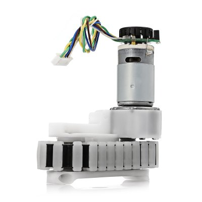 TS - 59 DIY Geared Motor with Cooling Fan for RobotMotors<br>TS - 59 DIY Geared Motor with Cooling Fan for Robot<br><br>Connectors: 5-Pin<br>Package Contents: 2 x Chassis ( 16cm Cable ), 1 x English User Manual<br>Package Size(L x W x H): 18.00 x 14.00 x 7.50 cm / 7.09 x 5.51 x 2.95 inches<br>Package weight: 0.5800 kg<br>Product Size(L x W x H): 11.70 x 10.30 x 5.00 cm / 4.61 x 4.06 x 1.97 inches<br>Product weight: 0.5330 kg