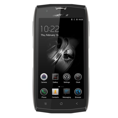 Blackview BV7000 4G SmartphoneCell phones<br>Blackview BV7000 4G Smartphone<br><br>2G: GSM 850/900/1800/1900MHz<br>3G: WCDMA 900/2100MHz<br>4G: FDD-LTE 800/900/1800/2100/2600MHz<br>Additional Features: Calculator, Video Call, People, MP4, MP3, Fingerprint Unlocking, Browser, Wi-Fi, Calendar, GPS, Fingerprint recognition, Bluetooth, 3G, 4G, Alarm<br>Back-camera: 8.0MP<br>Battery Capacity (mAh): 3500mAh<br>Battery Type: Non-removable, Li-ion Battery<br>Bluetooth Version: V4.1<br>Brand: Blackview<br>Camera Functions: Face Detection<br>Camera type: Dual cameras (one front one back)<br>Cell Phone: 1<br>Cores: 1.5GHz, Quad Core<br>CPU: MTK6737T<br>Earphones: 1<br>English Manual : 1<br>External Memory: TF card up to 32GB (not included)<br>Front camera: 5.0MP<br>Games: Android APK<br>I/O Interface: 3.5mm Audio Out Port, Micophone, 2 x Micro SIM Card Slot, TF/Micro SD Card Slot, Type-C, Speaker<br>IP rating: IP68<br>Language: English, Russian, German, French, Spanish, Polish, Portuguese, Italian, Norwegian<br>Music format: FLAC<br>Network type: GSM+WCDMA+FDD-LTE<br>OS: Android 7.0<br>OTG : Yes<br>OTG Adapter: 1<br>OTG Cable: 1<br>Package size: 18.50 x 18.50 x 4.50 cm / 7.28 x 7.28 x 1.77 inches<br>Package weight: 0.5640 kg<br>Picture format: GIF, JPEG, PNG, BMP<br>Power Adapter: 1<br>Product size: 15.30 x 7.89 x 1.26 cm / 6.02 x 3.11 x 0.5 inches<br>Product weight: 0.2230 kg<br>RAM: 2GB RAM<br>ROM: 16GB<br>Screen Protector: 1<br>Screen resolution: 1920 x 1080 (FHD)<br>Screen size: 5.0 inch<br>Screen type: Corning Gorilla Glass 3, IPS<br>Sensor: Ambient Light Sensor,Geomagnetic Sensor,Gravity Sensor,Proximity Sensor<br>Service Provider: Unlocked<br>SIM Card Slot: Dual SIM, Dual Standby<br>SIM Card Type: Micro SIM Card<br>SIM Needle: 1<br>Type: 4G Smartphone<br>USB Cable: 1<br>Video format: 3GP, MP4, MKV<br>Video recording: Yes<br>WIFI: 802.11b/g/n wireless internet<br>Wireless Connectivity: Bluetooth, WiFi, 3G, GPS, 4G