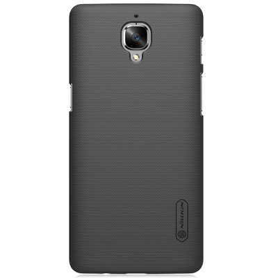 Nillkin Back Case for OnePlus 3 / 3TCases &amp; Leather<br>Nillkin Back Case for OnePlus 3 / 3T<br><br>Brand: Nillkin<br>Color: Black,Gold,White<br>Compatible Model: OnePlus 3 / 3T<br>Features: Anti-knock, Back Cover<br>Material: PC<br>Package Contents: 1 x Phone Case, 1 x Screen Film, 1 x Dust Remover, 1 x Cleaning Cloth<br>Package size (L x W x H): 19.00 x 11.00 x 2.60 cm / 7.48 x 4.33 x 1.02 inches<br>Package weight: 0.0850 kg<br>Product Size(L x W x H): 15.30 x 7.60 x 0.80 cm / 6.02 x 2.99 x 0.31 inches<br>Product weight: 0.0190 kg<br>Style: Round Dots, Modern, Solid Color