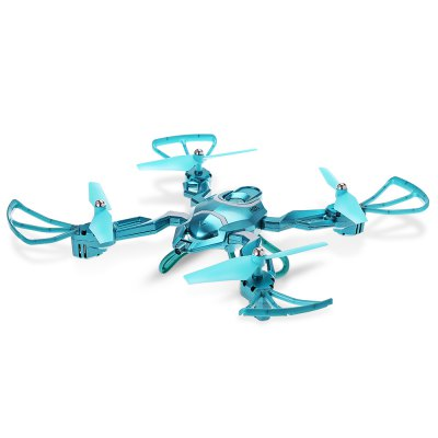 QI ZHI TOYS QZ - S8 Foldable RC Quadcopter - RTFRC Quadcopters<br>QI ZHI TOYS QZ - S8 Foldable RC Quadcopter - RTF<br><br>Age: Above 14 years old<br>Battery: 3.7V 600mAh lithium-ion battery<br>Battery Size: 4.6 x 2.6 x 0.7cm<br>Battery Weight: 17g<br>Brand: QI ZHI TOYS<br>Built-in Gyro: 6 Axis Gyro<br>Channel: 4-Channels<br>Charging Time.: 60 - 90mins<br>Compatible with Additional Gimbal: No<br>Detailed Control Distance: 100m<br>Features: Radio Control, Brushed Version, No camera<br>Flying Time: About 8mins<br>Functions: With light, Up/down, Turn left/right, Speed up, 3D rollover, Air Press Altitude Hold, Forward/backward, Headless Mode, One Key Automatic Return, Slow down, Sideward flight<br>Kit Types: RTF<br>Level: Beginner Level<br>Material: Plastic, Electronic Components<br>Model: QZ - S8<br>Model Power: Built-in rechargeable battery<br>Motor Type: Brushed Motor<br>Package Contents: 1 x Quadcopter ( Battery Included ), 1 x Transmitter, 2 x Spare Propeller, 1 x USB Cable, 1 x Screwdriver, 1 x Chinese-English Manual<br>Package size (L x W x H): 50.00 x 23.00 x 11.50 cm / 19.69 x 9.06 x 4.53 inches<br>Package weight: 0.9690 kg<br>Product weight: 0.1280 kg<br>Radio Mode: Mode 2 (Left-hand Throttle)<br>Remote Control: 2.4GHz Wireless Remote Control<br>Size: Medium<br>Transmitter Power: 4 x 1.5V AA battery(not included)<br>Type: Outdoor, Quadcopter