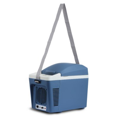 CW1 - 7L Portable Thermoelectric Cooler WarmerRefrigerators &amp; Freezers<br>CW1 - 7L Portable Thermoelectric Cooler Warmer<br><br>Material: ABS<br>Package Contents: 1 x Car Refrigerator, 1 x Car Charger, 1 x English User Manual, 1 x Strap<br>Package size (L x W x H): 40.50 x 21.70 x 31.00 cm / 15.94 x 8.54 x 12.2 inches<br>Package weight: 2.6290 kg<br>Product size (L x W x H): 35.00 x 18.00 x 26.00 cm / 13.78 x 7.09 x 10.24 inches<br>Product weight: 0.9860 kg<br>Type: Upright<br>Voltage (V): DC 12