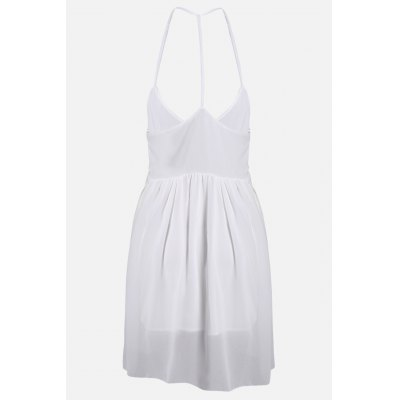 Halter High Waisted White Chiffon DressBottoms<br>Halter High Waisted White Chiffon Dress<br><br>Dresses Length: Mini<br>Embellishment: Ruffles<br>Fabric Type: Chiffon<br>Material: Polyester<br>Neckline: Halter<br>Occasion: Wedding, Beach and Summer, Party<br>Package Contents: 1 x Dress<br>Package size: 32.00 x 28.00 x 2.00 cm / 12.6 x 11.02 x 0.79 inches<br>Package weight: 0.2200 kg<br>Pattern Type: Solid Color<br>Product weight: 0.1600 kg<br>Season: Summer<br>Silhouette: Pleated<br>Size: L,M,XL<br>Sleeve Length: Sleeveless<br>Style: Leisure<br>With Belt: No