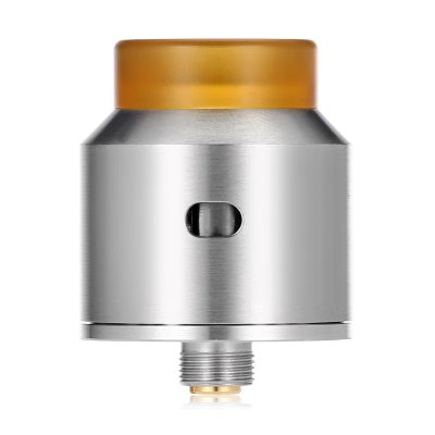 ADVKEN Gorge RDA AtomizerRebuildable Atomizers<br>ADVKEN Gorge RDA Atomizer<br><br>Brand: ADVKEN<br>Material: Stainless Steel, PEI<br>Overall Diameter: 24mm<br>Package Contents: 1 x ADVKEN Gorge RDA, 1 x Tank, 3 x Rubber Gasket, 1 x Screwdriver, 1 x Bottom Electrode Screw, 4 x Electrode Column Screw<br>Package size (L x W x H): 8.00 x 3.80 x 8.00 cm / 3.15 x 1.5 x 3.15 inches<br>Package weight: 0.1070 kg<br>Product size (L x W x H): 3.10 x 2.40 x 2.40 cm / 1.22 x 0.94 x 0.94 inches<br>Product weight: 0.0410 kg<br>Rebuildable Atomizer: RBA,RDA,RTA<br>Tank Capacity: 2.5ml<br>Thread: 510<br>Type: Rebuildable Atomizer, Rebuildable Drippers, Rebuildable Tanks