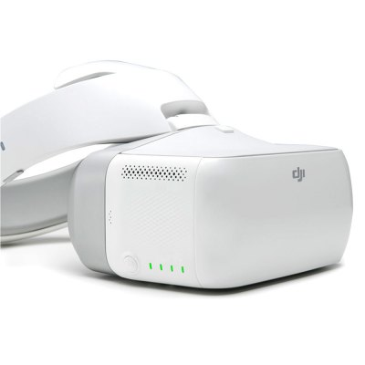 DJI Goggles Dual 5 inch Screens 2 x 1920 x 1080FPV Goggles &amp; Monitors<br>DJI Goggles Dual 5 inch Screens 2 x 1920 x 1080<br><br>Battery: 9440mAh ( built-in )<br>Brand: DJI<br>FPV Equipments: FPV Goggles<br>Functions: HDMI, Video<br>Package Contents: 1 x DJI Goggles Body ( Battery Included ), 1 x Headband, 1 x Micro USB Cable, 1 x HDMI Cable, 1 x Wire Clip, 1 x Cleaning Cloth, 1 x Charger, 1 x Set of English Manuals<br>Package size (L x W x H): 28.60 x 27.80 x 8.20 cm / 11.26 x 10.94 x 3.23 inches<br>Package weight: 1.9800 kg<br>Pixel Size: 3840 x 1080 ( single screen: 1920 x 1080 )<br>Product size (L x W x H): 19.50 x 15.50 x 11.00 cm / 7.68 x 6.1 x 4.33 inches<br>Product weight: 0.9950 kg<br>Screen size: 2 x 5 inches<br>Working Temperature: 32 - 104 Deg.F ( 0 - 40 Deg.C )<br>Working Time: 6 hours