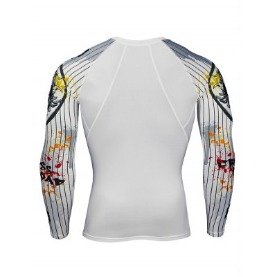 Quick-drying Training Workout ShirtsWeight Lifting Clothes<br>Quick-drying Training Workout Shirts<br><br>Features: Breathable, High elasticity, Quick Dry<br>Gender: Men<br>Material: Polyester<br>Package Content: 1 x T Shirt<br>Package size: 30.00 x 25.00 x 2.00 cm / 11.81 x 9.84 x 0.79 inches<br>Package weight: 0.2200 kg<br>Product weight: 0.1900 kg<br>Size: 2XL,3XL,4XL,L,M,XL<br>Types: Long Sleeves