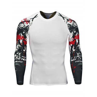 Quick-drying Training Workout T ShirtsWeight Lifting Clothes<br>Quick-drying Training Workout T Shirts<br><br>Features: Breathable, High elasticity, Quick Dry<br>Gender: Men<br>Material: Polyester<br>Package Content: 1 x T Shirt<br>Package size: 30.00 x 25.00 x 2.00 cm / 11.81 x 9.84 x 0.79 inches<br>Package weight: 0.2200 kg<br>Product weight: 0.1900 kg<br>Size: 2XL,3XL,4XL,L,M,XL<br>Types: Long Sleeves