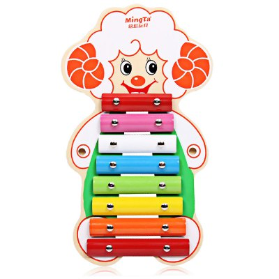 MINGTA Kids Wooden 8 Tones Hand Knock PianoOther Educational Toys<br>MINGTA Kids Wooden 8 Tones Hand Knock Piano<br><br>Completeness: Finished Goods<br>Gender: Unisex<br>Materials: Other, Plastic<br>Package Contents: 1 x Piano Toy<br>Package size: 38.00 x 22.00 x 6.00 cm / 14.96 x 8.66 x 2.36 inches<br>Package weight: 0.5700 kg<br>Product size: 36.00 x 20.00 x 4.50 cm / 14.17 x 7.87 x 1.77 inches<br>Product weight: 0.5000 kg<br>Stem From: China<br>Theme: Other