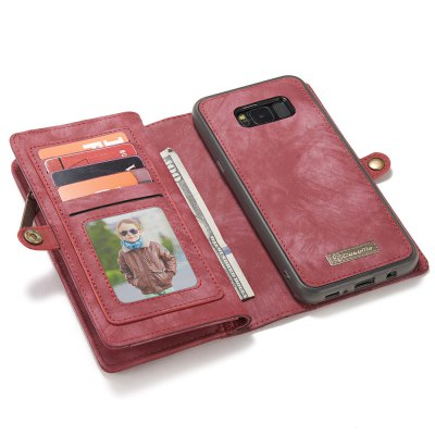 CaseMe 008 PU Wallet Phone CaseSamsung Cases/Covers<br>CaseMe 008 PU Wallet Phone Case<br><br>Brand: CaseMe<br>Color: Black,Blue,Brown,Red<br>Compatible with: Samsung Galaxy S8 Plus<br>Features: Anti-knock, Full Body Cases, With Credit Card Holder<br>Material: PU Leather<br>Package Contents: 1 x Phone Case<br>Package size (L x W x H): 21.00 x 15.00 x 4.00 cm / 8.27 x 5.91 x 1.57 inches<br>Package weight: 0.2190 kg<br>Product size (L x W x H): 16.30 x 8.80 x 3.00 cm / 6.42 x 3.46 x 1.18 inches<br>Product weight: 0.1900 kg<br>Style: Cool