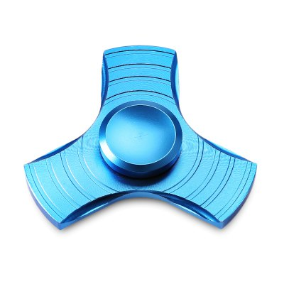 Aluminum Alloy Tri Fidget Spinner Stress Relievers Toy
