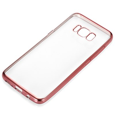 ASLING Anti-drop TPU Back CaseSamsung Cases/Covers<br>ASLING Anti-drop TPU Back Case<br><br>Brand: ASLING<br>Color: Gold,Rose Gold,Silver<br>Compatible with: Samsung Galaxy S8 Plus<br>Features: Anti-knock, Back Cover<br>Material: TPU<br>Package Contents: 1 x Phone Case<br>Package size (L x W x H): 21.00 x 13.00 x 1.90 cm / 8.27 x 5.12 x 0.75 inches<br>Package weight: 0.0460 kg<br>Product size (L x W x H): 16.30 x 7.50 x 0.90 cm / 6.42 x 2.95 x 0.35 inches<br>Product weight: 0.0220 kg<br>Style: Transparent
