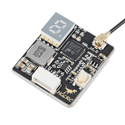 HGLRC GTX226 5.8G 40CH Mini FPV TransmitterReceiver &amp; Transmitter<br>HGLRC GTX226 5.8G 40CH Mini FPV Transmitter<br><br>Antenna Type: RP-SMA female<br>FPV Equipments: Transmitter<br>Functions: Video<br>Image Transmission Power: 25mW / 200mW / 600mW<br>Package Contents: 1 x FPV Transmitter ( with RP-SMA Female Connector ), 1 x 5-pin Cable<br>Package size (L x W x H): 13.00 x 11.20 x 1.80 cm / 5.12 x 4.41 x 0.71 inches<br>Package weight: 0.0360 kg<br>Product size (L x W x H): 2.00 x 2.30 x 0.80 cm / 0.79 x 0.91 x 0.31 inches<br>Product weight: 0.0090 kg
