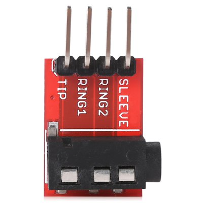LDTR - WG0078 Audio Socket Stereo Sound Module w / MicOther Accessories<br>LDTR - WG0078 Audio Socket Stereo Sound Module w / Mic<br><br>Color: Red<br>Material: FR4<br>Package Contents: 1 x Module<br>Package Size(L x W x H): 6.00 x 5.00 x 1.00 cm / 2.36 x 1.97 x 0.39 inches<br>Package weight: 0.0250 kg<br>Product Size(L x W x H): 2.40 x 1.50 x 0.65 cm / 0.94 x 0.59 x 0.26 inches<br>Product weight: 0.0030 kg