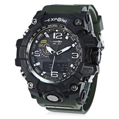 EXPONI 3239 Backlight Digital Quartz Watch