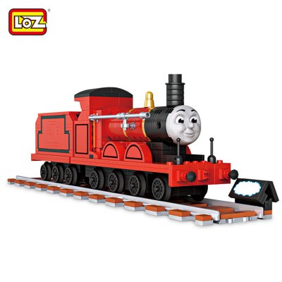 LOZ ABS Train Style Construction Building Brick Toy