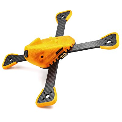 GEPRC FlyShark GEP - BX5 215mm Carbon Fiber Frame KitRacing Frame<br>GEPRC FlyShark GEP - BX5 215mm Carbon Fiber Frame Kit<br><br>Brand: GEPRC<br>Package Contents: 1 x Chassis, 1 x Upper Board, 6 x Sponge, 1 x Sticker, 1 x Battery Strap, 1 x PDB with XT60 Connector, 1 x Top Cover, 4 x Plastic Bumper, 1 x Pack of Accessories<br>Package size (L x W x H): 20.00 x 10.00 x 3.50 cm / 7.87 x 3.94 x 1.38 inches<br>Package weight: 0.2800 kg<br>Product size (L x W x H): 19.50 x 19.50 x 5.00 cm / 7.68 x 7.68 x 1.97 inches<br>Product weight: 0.0900 kg<br>Type: Frame Kit
