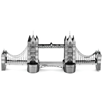 Bridge Shape Metallic Puzzle Birthday PresentModel &amp; Building Toys<br>Bridge Shape Metallic Puzzle Birthday Present<br><br>Gender: Unisex<br>Materials: Metal<br>Package Contents: 1 x 3D Metallic Puzzle Board, 1 x Operation Instruction<br>Package size: 17.00 x 12.00 x 0.20 cm / 6.69 x 4.72 x 0.08 inches<br>Package weight: 0.0700 kg<br>Product size: 14.00 x 2.00 x 5.70 cm / 5.51 x 0.79 x 2.24 inches<br>Product weight: 0.0400 kg<br>Stem From: Europe and America<br>Theme: Movie and TV